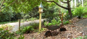 Perennial Garden - Wheelbarrow